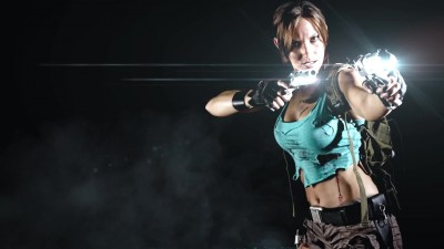"Lara Croft ""Tomb Raider"" - SuperHero Photography Photo Shoot"
