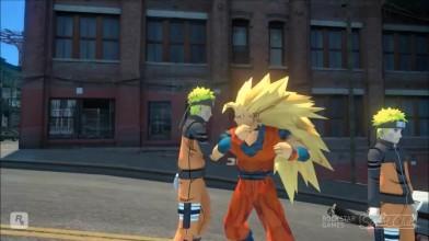 "Naruto Shippuden: Ultimate Ninja Storm 3 ""Наруто протув гоку, драка в городе"""