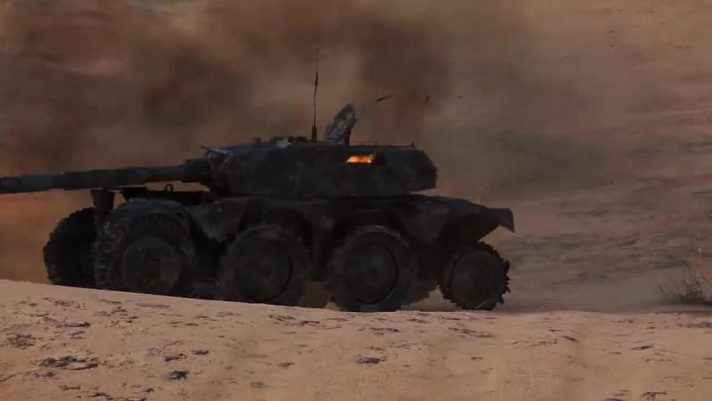 World of Tanks - Что будет, если колесному танку убить весь экипаж на скорости?