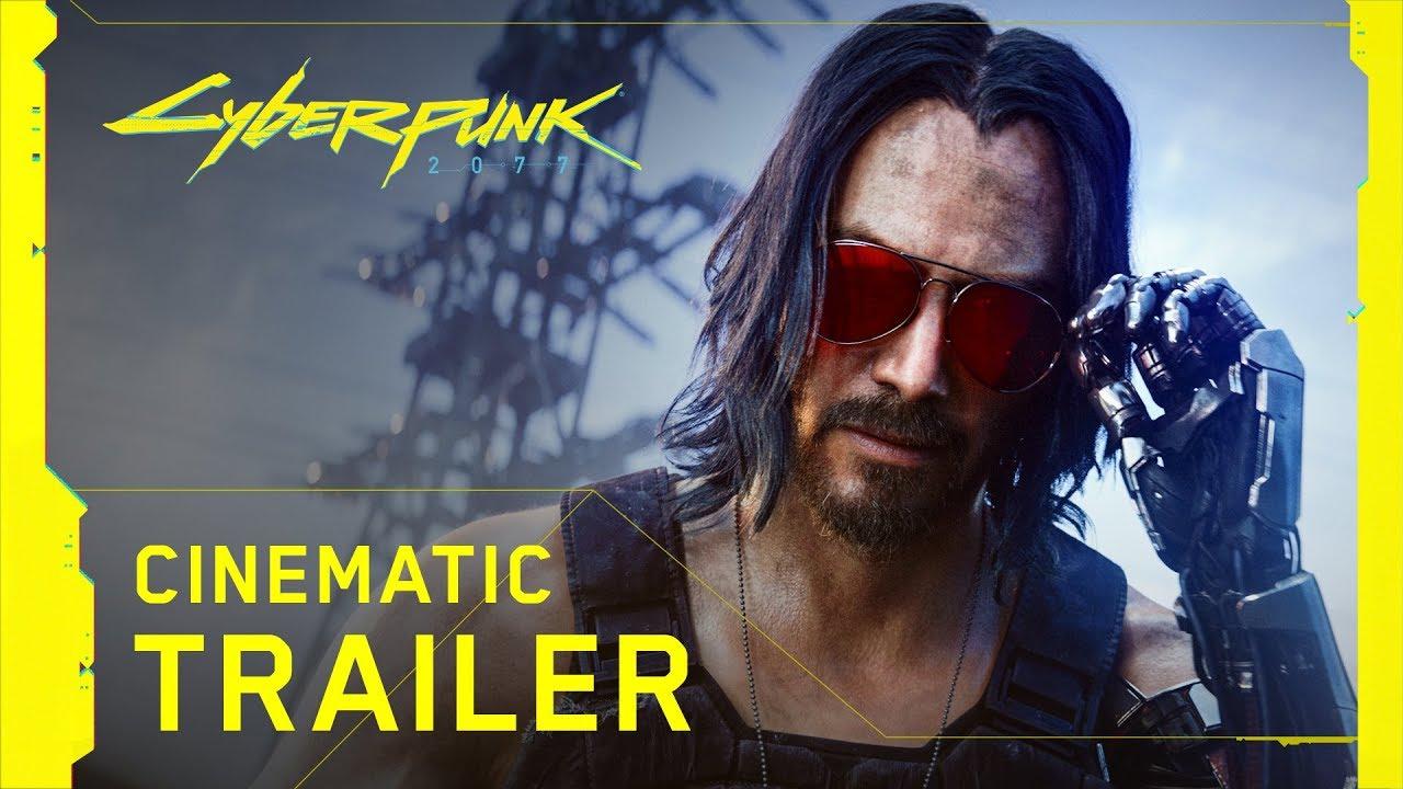 Трейлер Cyberpunk 2077 оказался самым популярным на E3 2019