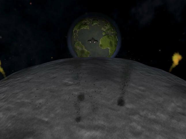 Земля, спрятанная Комптон