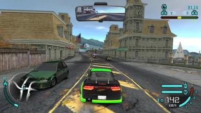 "Поездка по дневному Рокпорту на ""Ниссане 240SX"" в ""Need for Speed: Carbon"""