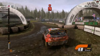 "WRC 4: FIA World Rally Championship ""18 минут игры"""