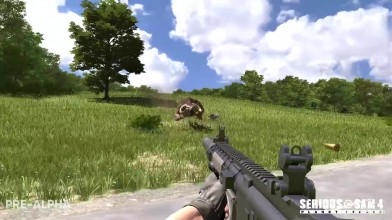 Дебютный геймплей Serious Sam 4: Planet Badass
