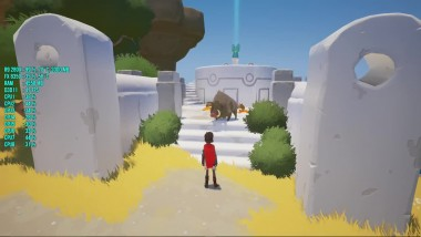 RiME : FPS Test R9 280X FX 8350