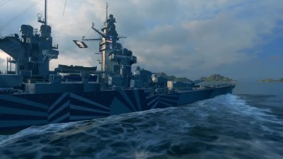 World of Warships. Линкор Gascogne. Армада