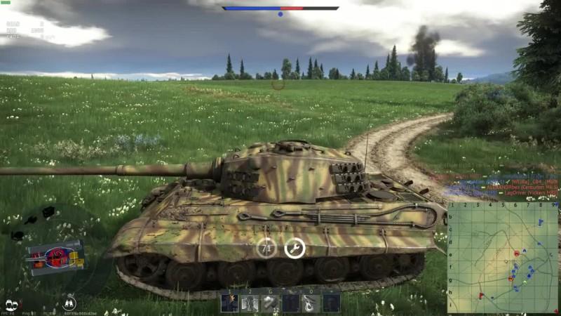 War Thunder - Самый королевский тигр