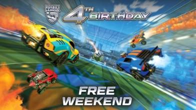 Пять бесплатных дней в Rocket League в честь четвёртой годовщины