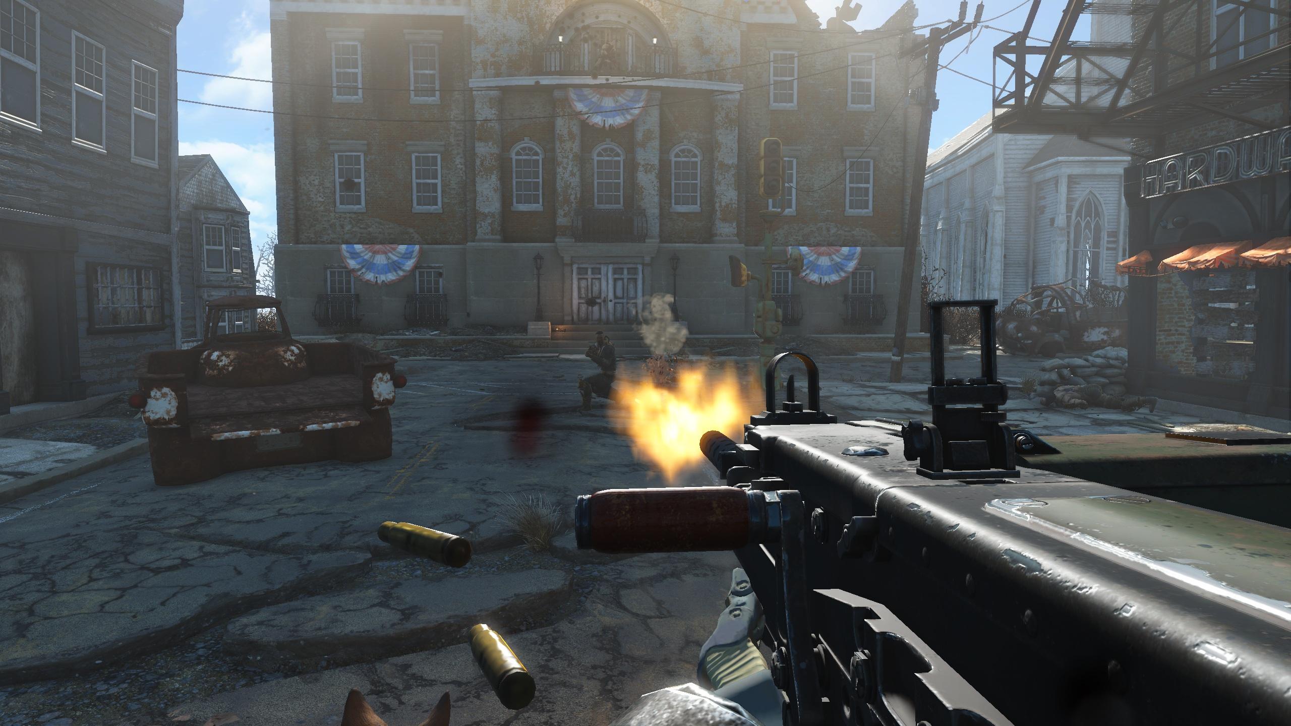fallout 4 heavy machine gun