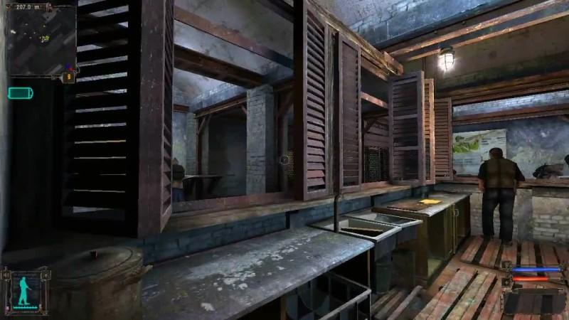 Как попасть к Бармену за прилавок и в комнату бара 100 рентген в S.T.A.L.K.E.R. Тень Чернобыля