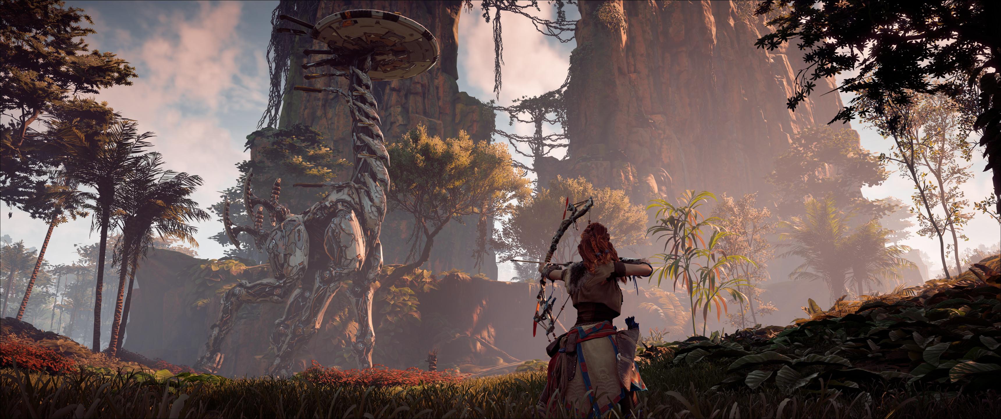 Первый скриншот PC-версии Horizon: Zero Dawn