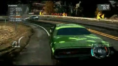 "Need for Speed: The Run ""Muscle Car Multiplayer Gameplay"""
