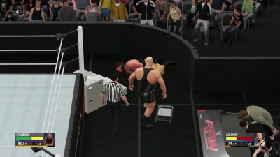 "WWE 2K16 ""Braun Strowman VS Big Show Falls Count Anywhere (2k16)"""