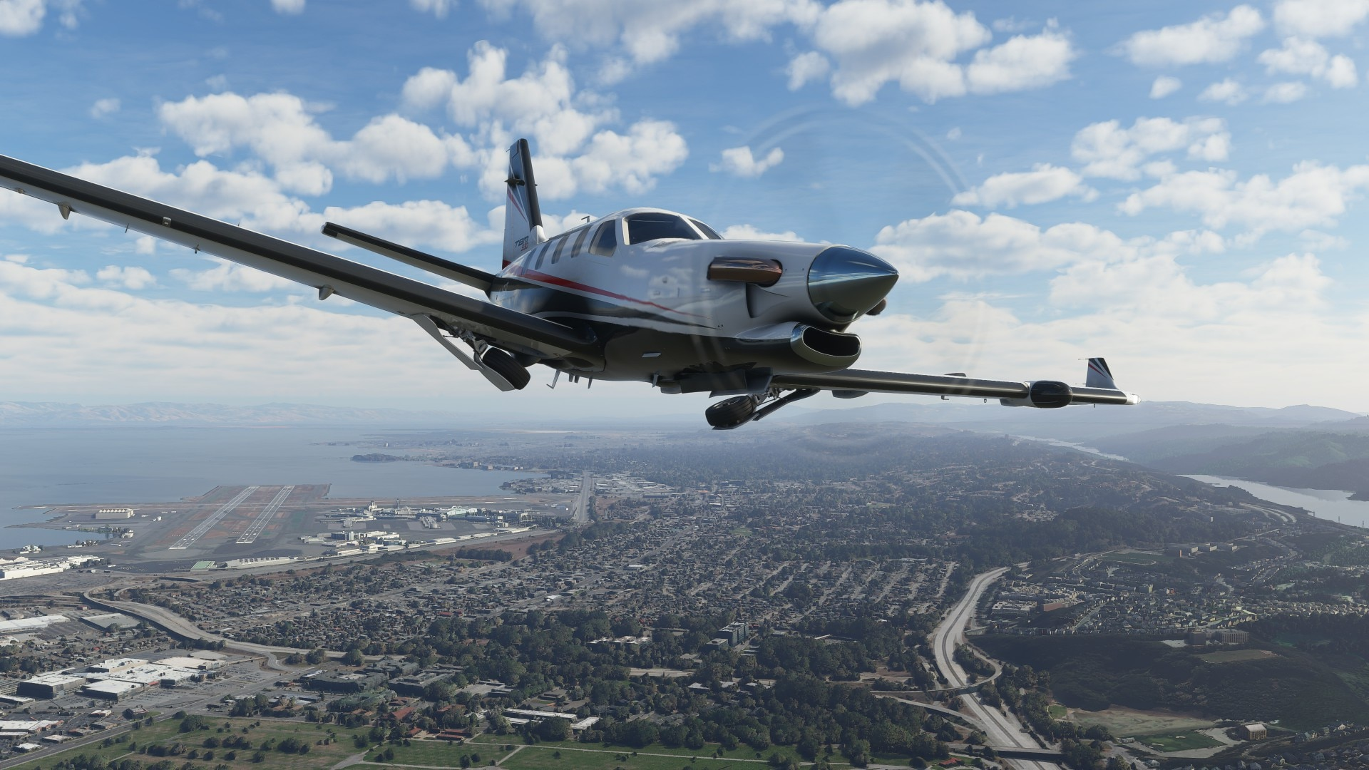 Microsoft Flight Simulator успешно стартовала в Steam