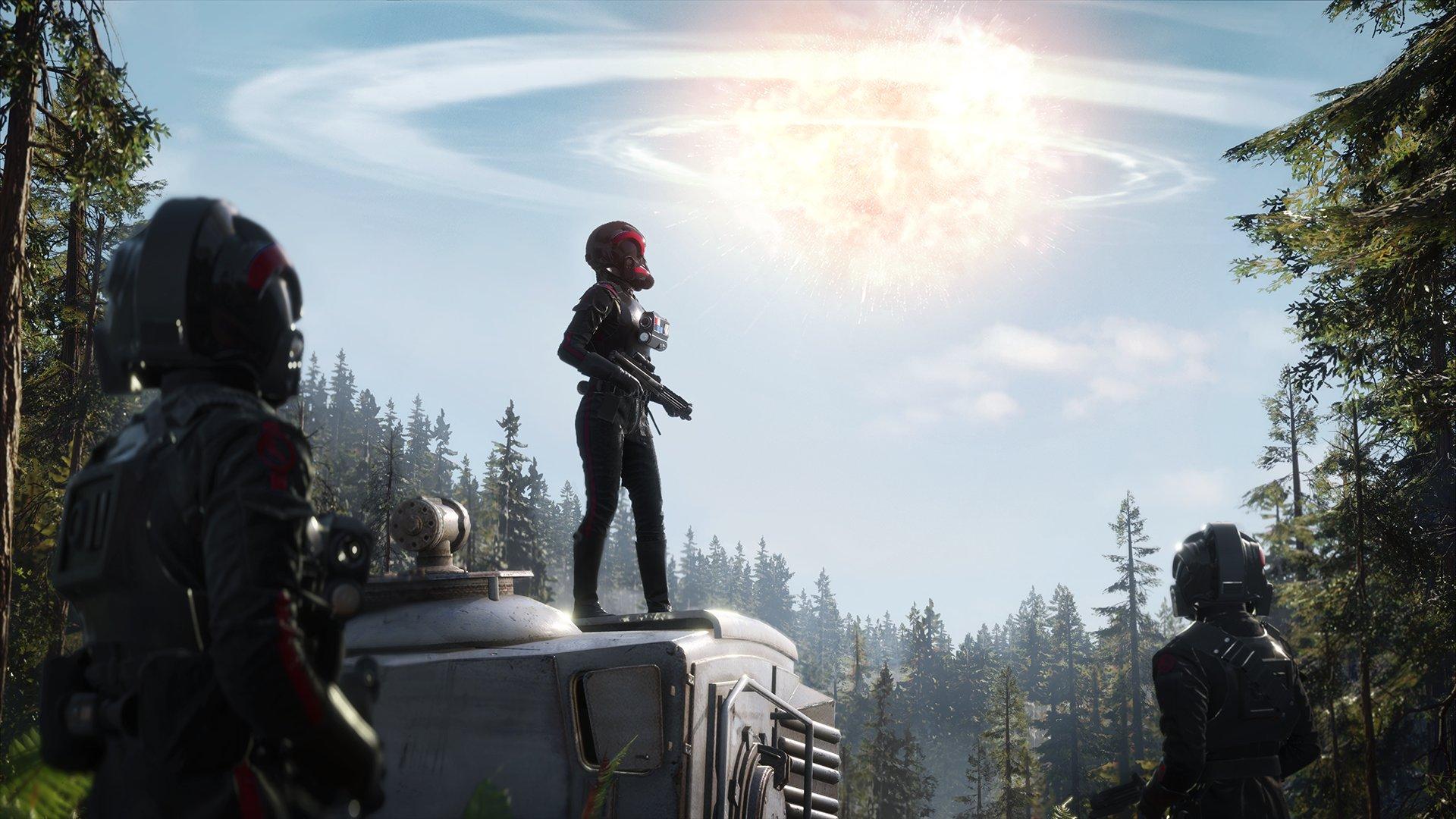 Информация опланируемом бета-тесте Star Wars BattlefrontII