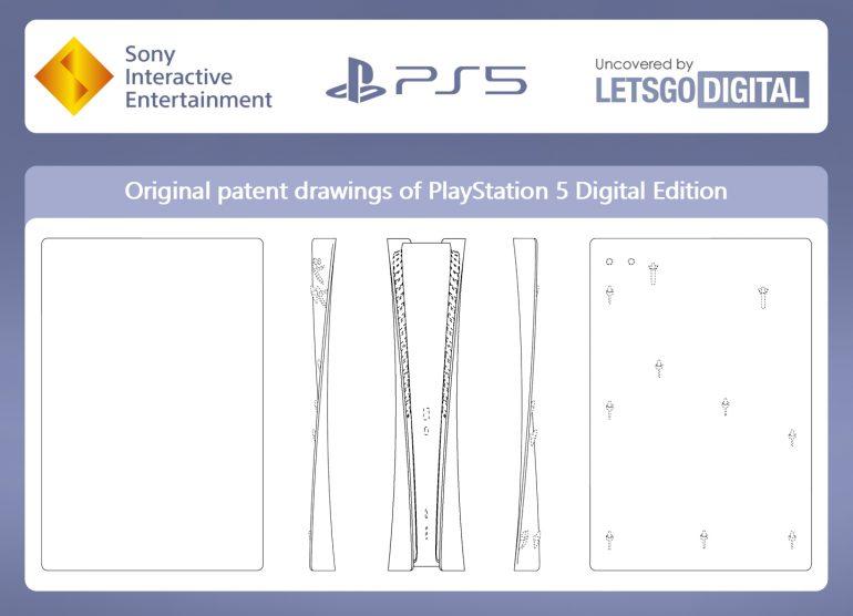 Найдена официальная документация с дизайнами PS5 и DualSense