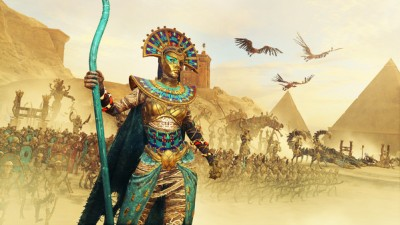 Новый геймплей дополнения Rise of the Tomb Kings