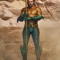"""Джейсон Момоа показал костюм из фильма """"Аквамен 2"""""""