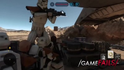 Spawn Party - Star Wars Battlefront - GameFails