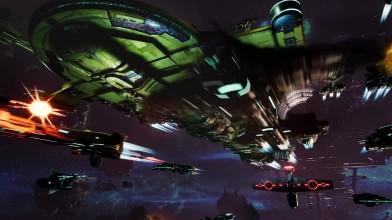 Battlefleet Gothic: Armada 2 - линкор Гал'леат-Ваш'я