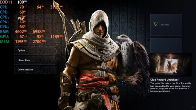 Assassin's Creed: Origins - GTX 750 ti - i5 2400 - 12GB RAM