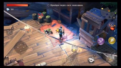 "Dungeon Hunter 5 ""Геймплей (iOS) [TheBrainDit ]"""