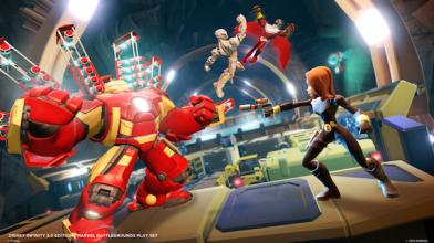 Дебютный трейлер игрового набора Marvel Battlegrounds для Disney Infinity 3.0