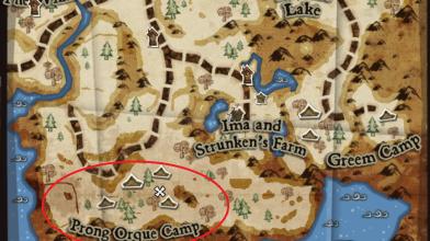 Помогите найти зеленый фетр в DeathSpank