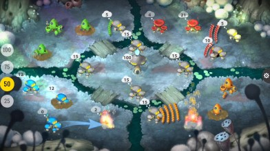 Pro-матч Mushroom Wars 2 в кооперативе