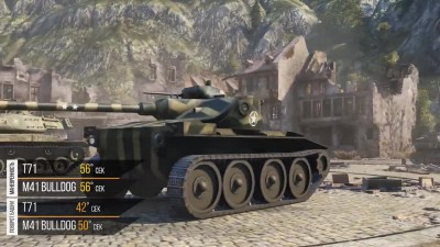 "World of Tanks ""T71 против M41 Walker Bulldog - Танкомахач №21 - от ARBUZNY и TheGUN """