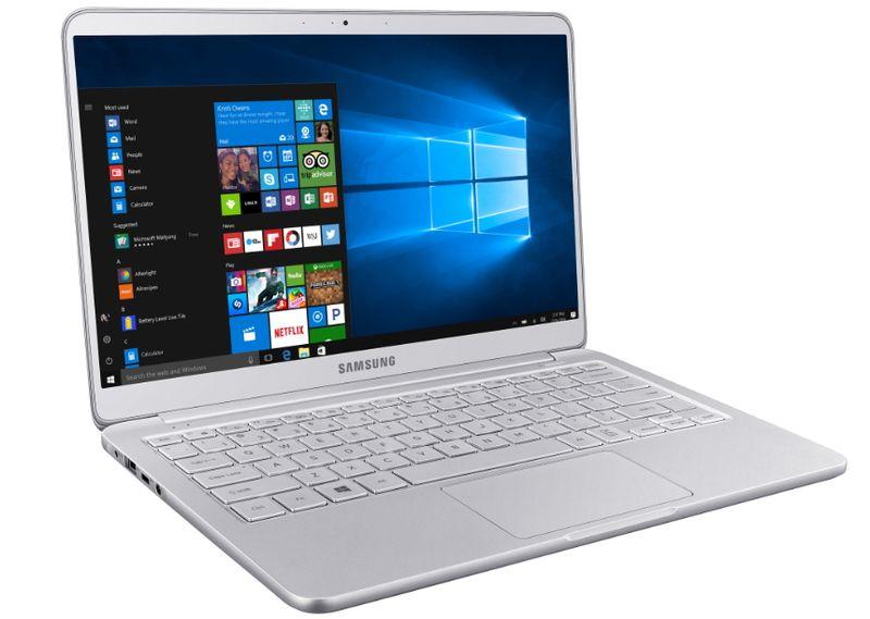 Самсунг представила самый легкий ноутбук