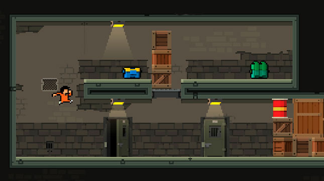 """Prison Run and Gun"" - спин-офф ПК-игры ""Hot Guns"" для iOS"