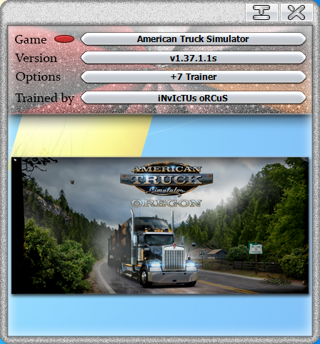 American Truck Simulator: Trainer / Trainer