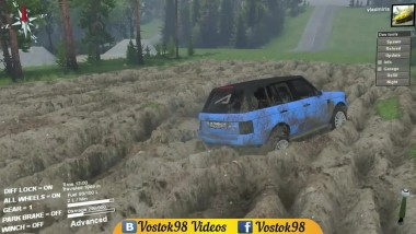 "Spintires Full Version Range Rover ""Pontorezka"""