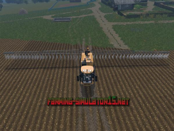 Мод Challenger RoGator RG 635 C V 1.1 - Опрыскиватель для Farming Simulator 2015