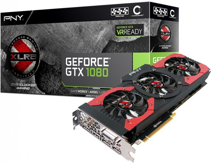 GeForce GTX 1080 XLR8 OC
