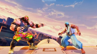 "Street Fighter 5 ""Превью арены Skies Of Honor Stage"""