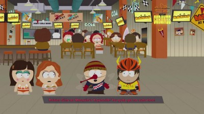 Битва с четвертым боссом в South Park: The Fractured But Whole
