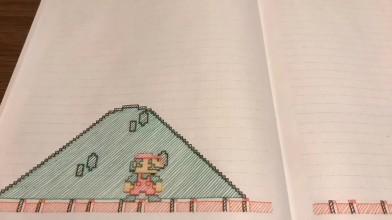 Бумажный Mario Bros