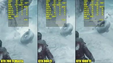 Rise Of The Tomb Raider - Тест производительности GTX 1080 TI Vs GTX 980 TI Vs GTX 780 TI