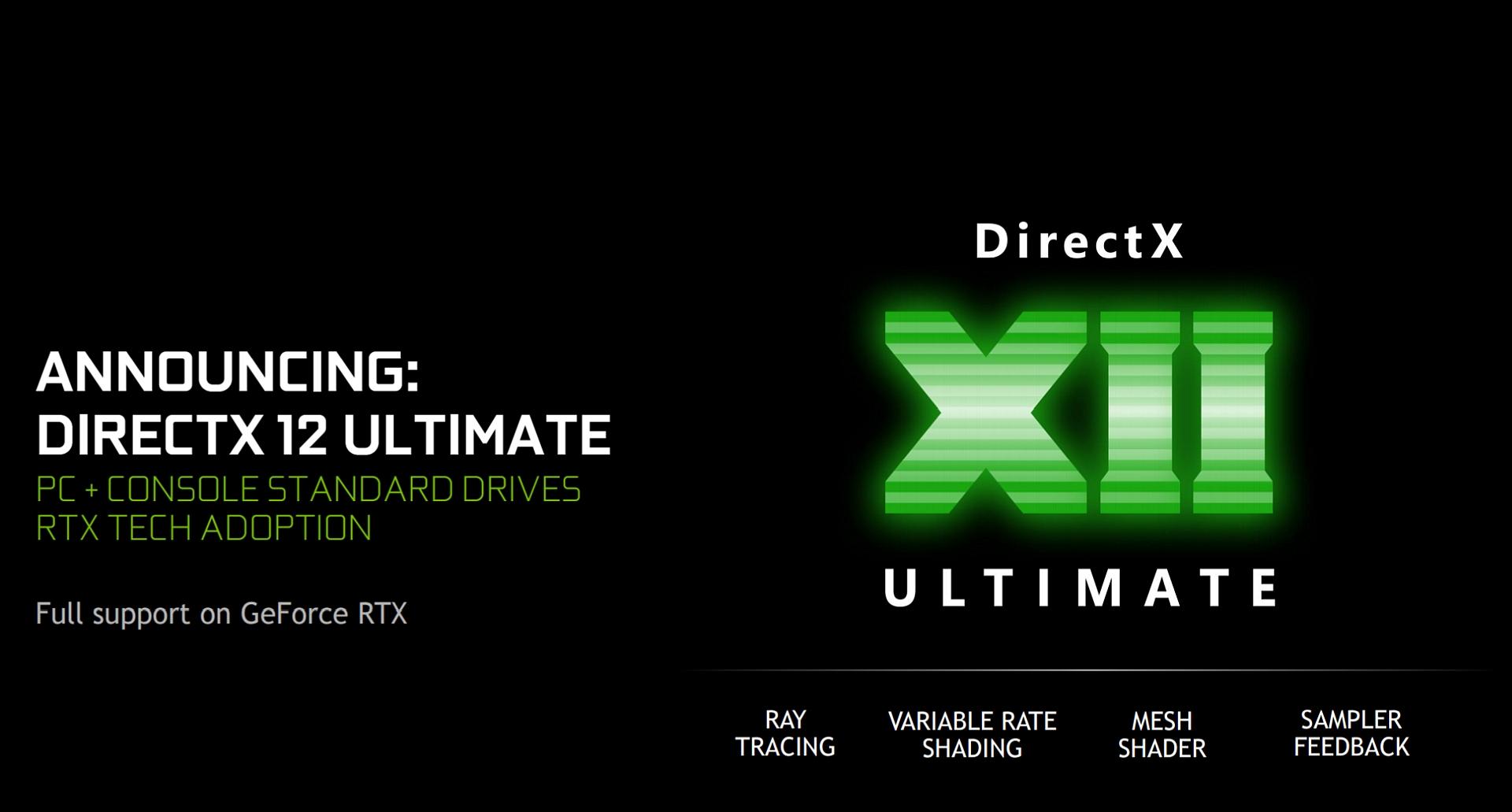 DirectX 12 Ultimate - это попытка Microsoft использовать унифицированную графику следующего поколения для ПК и консоли