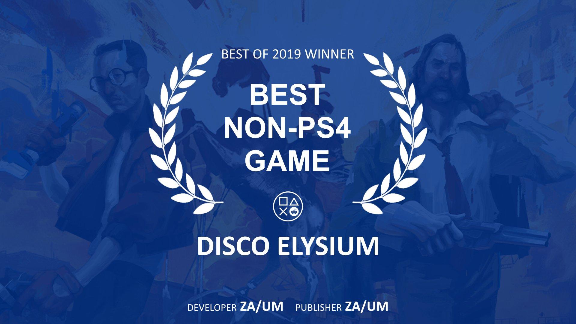 По мнению пользователей Reddit лучшая игра не для PS4 - Disco Elysium
