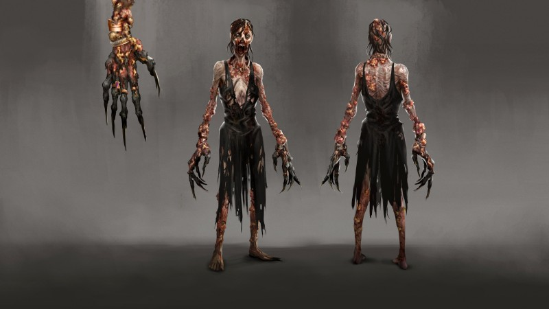Знакомство с Банши на новых концептах игры Dying Light 2: Stay Human