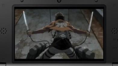 "Attack on Titan ""Геймплейный трейлер (Nintendo 2DS/3DS)"""