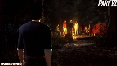 "Friday the 13th: The Game ""Выход Джейсона в карте HIGGINS HAVEN INTRO"""