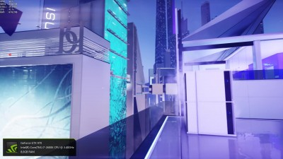 "Mirror's Edge Catalyst ""GTX 970 4K Hyper Settings"""