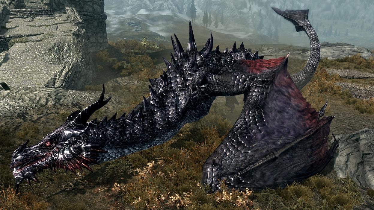 Скачать скайрим мод на смертельные драконы