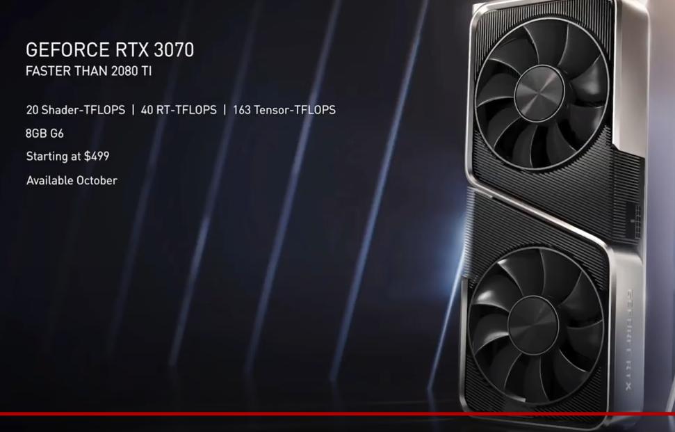 Rtx 3070 за 499$ или как PS5 устарела ещё до выхода