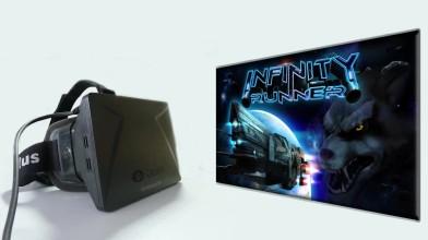 """Infinity Runner """"Геймплей с Oculus Rift"""""""