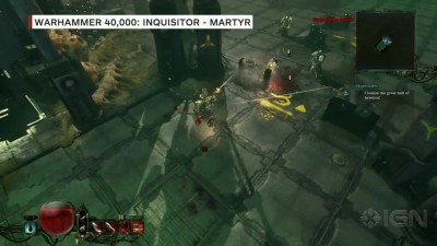 "Warhammer 40K: Inquisitor ""Геймплей - Martyr - Gamescom 2015"""